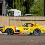 Corvette on Autocross field
