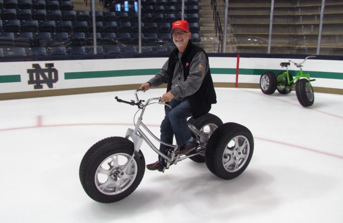 Driven: The Bridgestone tricycles