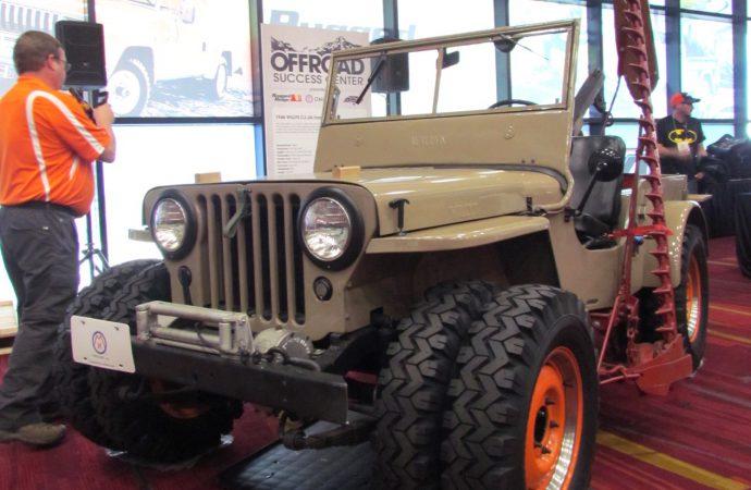 SEMA Seen: 1946 Willys CJ-2A Farm Jeep