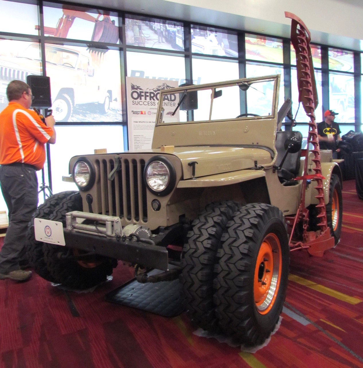 Like GIs, Jeeps made transition to post-war duties