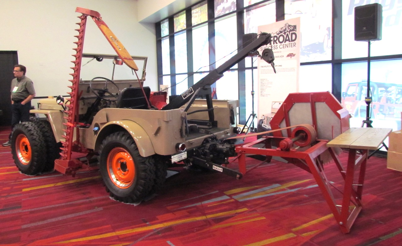 1946 Willys was modified for use in post-war farming   Larry Edsall photos