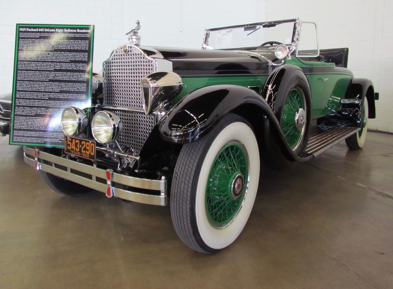 From Pebble Beach to Leake auction, the 1929 Packard