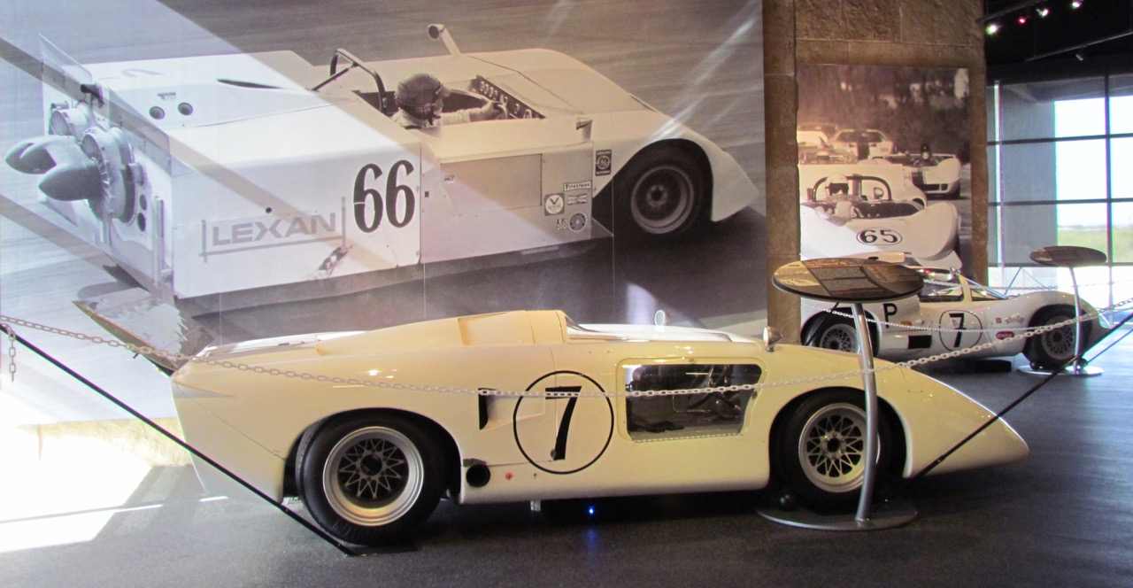 The Chaparral Gallery includes racing cars and hands-on technical displays | Larry Edsall photos