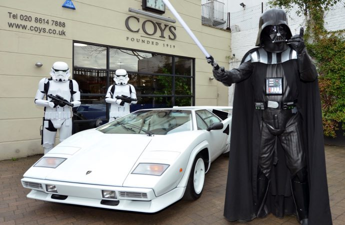 Coys' auction combines cars and Star Wars (and some 007, too)