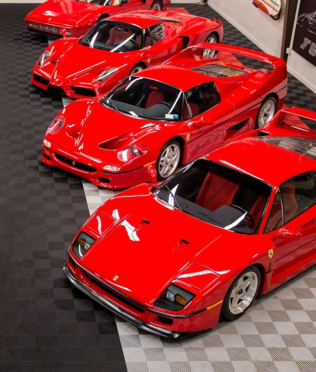 Ferrari Collection To Be Offered By Gooding At January