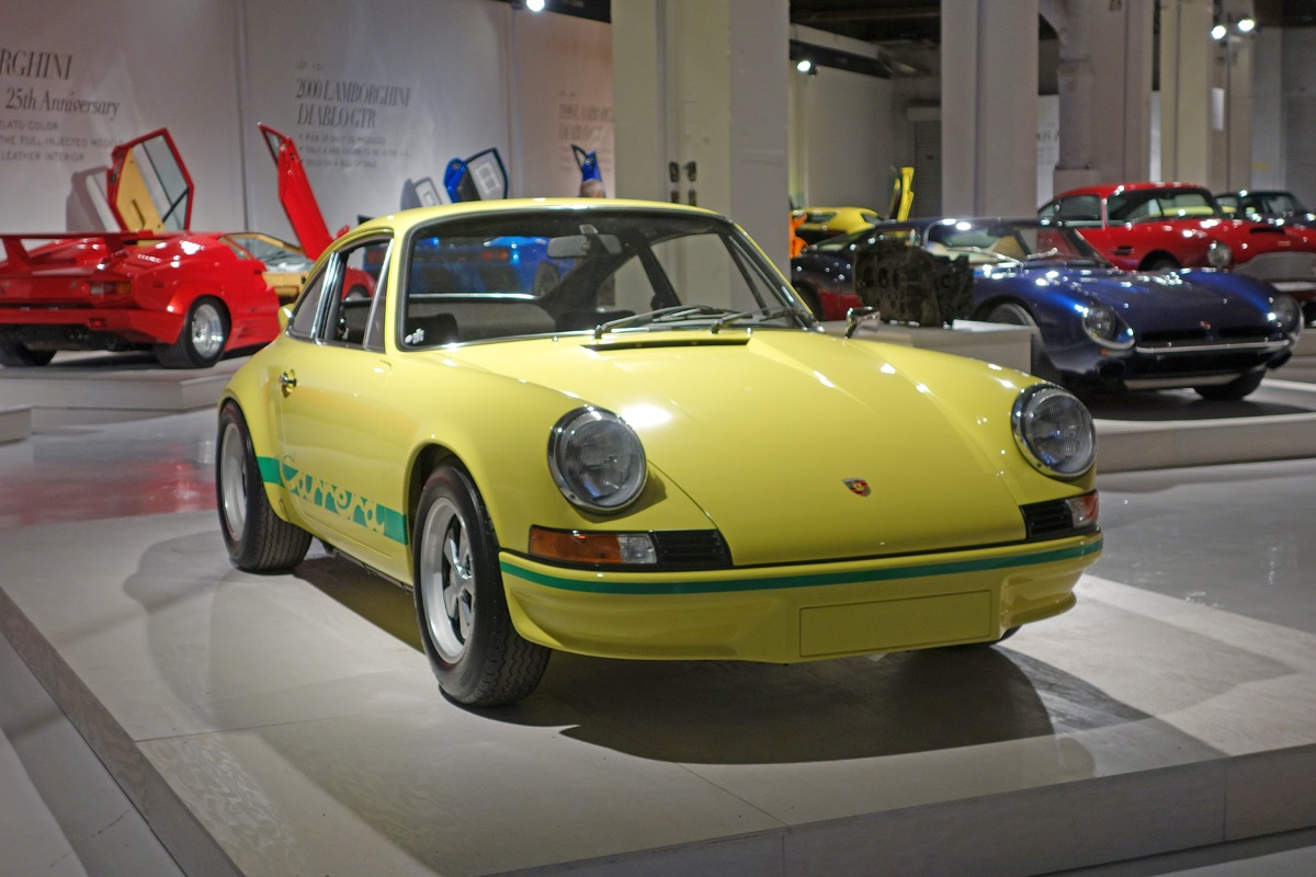 A Porsche Carrera RS among other cars offered at Keno Brothers' inaugural auction | Andy Reid photos