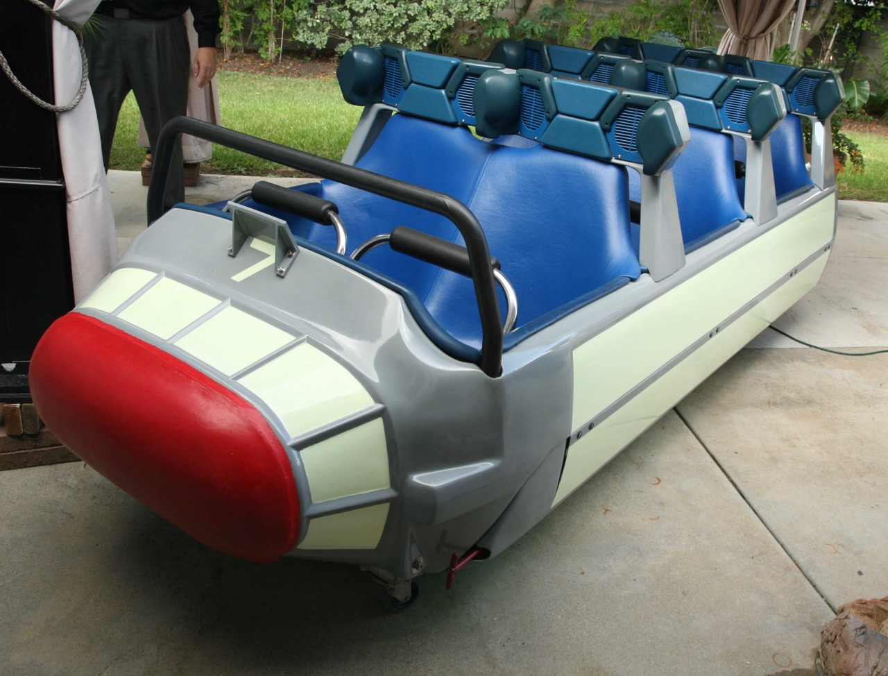 Space Mountain car has pre-auction estimated value of $50,000 to $60,000 | Van Eaton Galleries photos