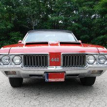 Fast and rare, an original 1970 Oldsmobile 442 W-30 convertible set for auction by Russo and Steele