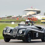 john young, winner of fordwater trophy, jaguar xk120