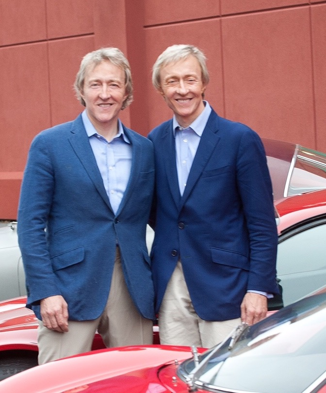 The Keno brothers, Leigh (left) and Leslie