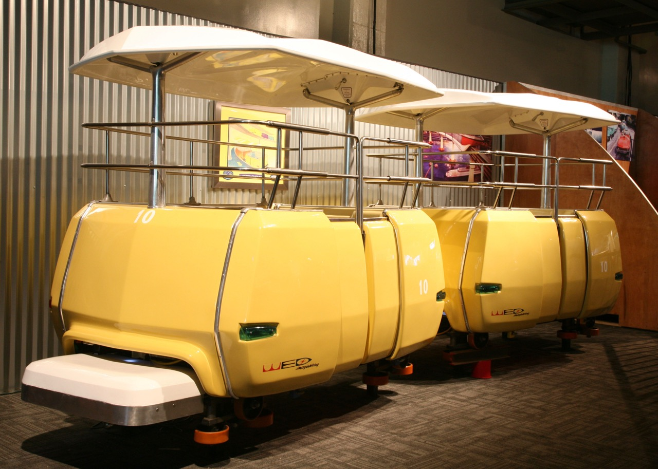 Tomorrowland transit cars