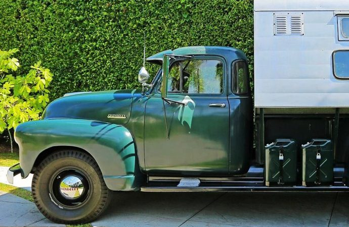 Steve McQueen pickup camper to be auctioned by Mecum