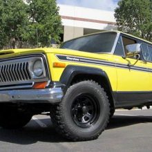 1977 Jeep Cherokee Chief