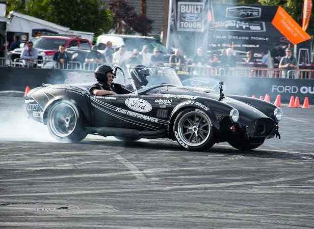 SEMA ride along in a Superformance Cobra