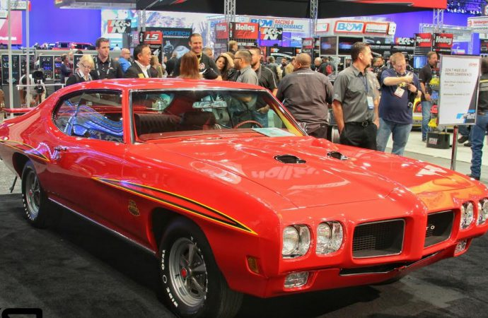 Bodie Stroud shows GTO Judge, and two more at SEMA