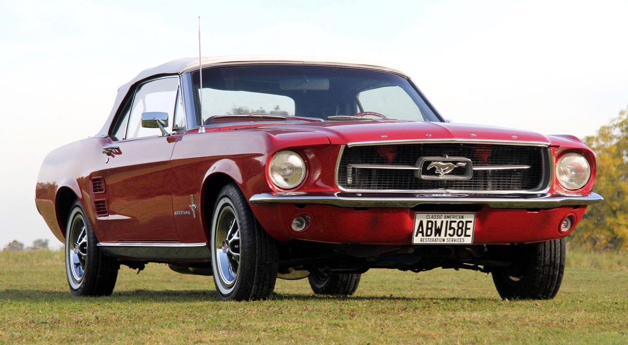 'Game of Thrones' star's '67 Mustang convertible was recently restore | CCA photos