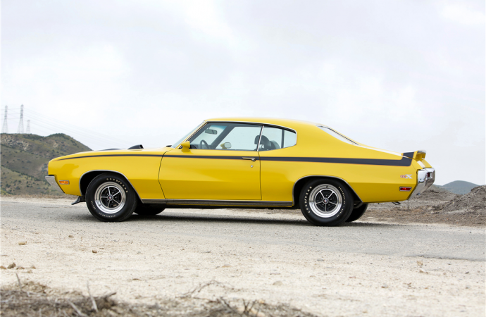 Countdown to Barrett-Jackson Scottsdale 2016: 1970 Buick GSX Stage 1