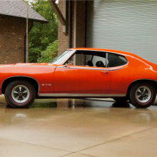 Countdown to Barrett-Jackson Scottsdale 2016: 1969 Pontiac GTO Judge Ram Air IV