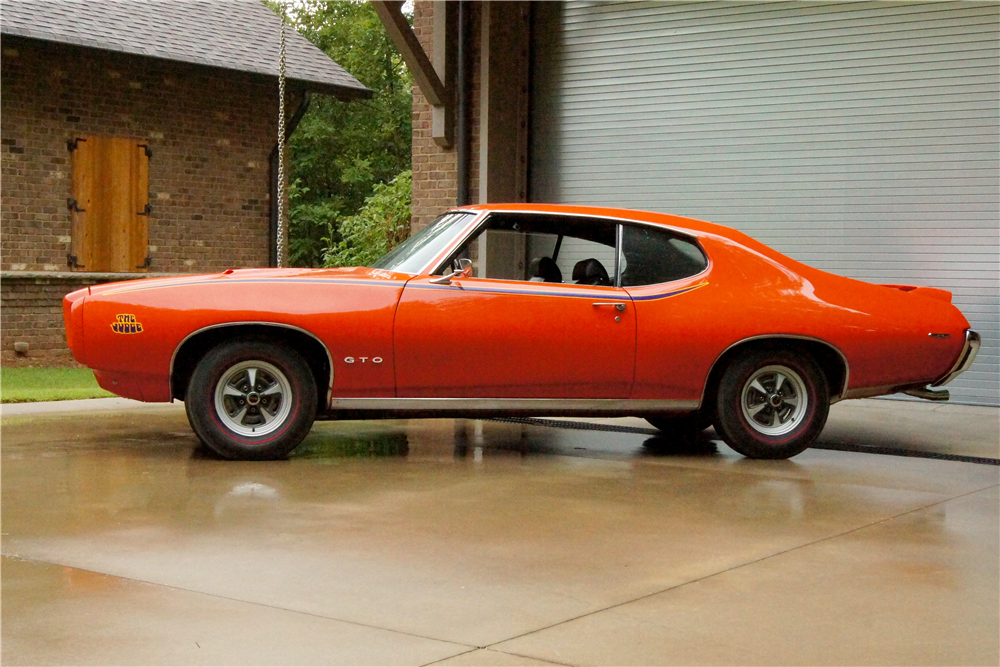 Countdown to Barrett-Jackson Scottsdale 2016: 1969 Pontiac GTO ...