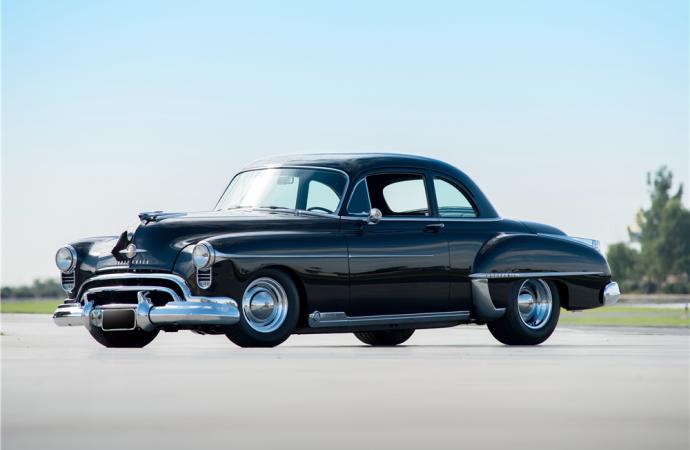 Countdown to Barrett-Jackson Scottsdale 2016: 1950 Oldsmobile 88 Futuramic Custom Coupe