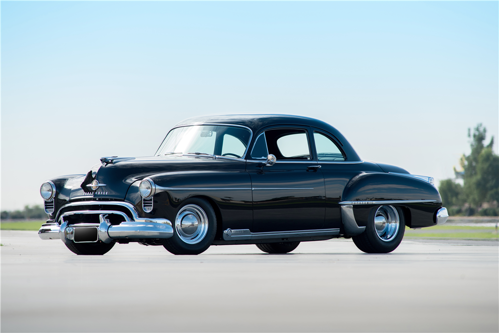 Countdown To Barrett Jackson Scottsdale 2016 1950 Oldsmobile 88 Futuramic Custom Coupe