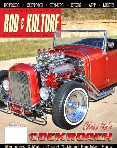 The Ford served as cover car for a 2013 'Traditional Rod and Kulture'
