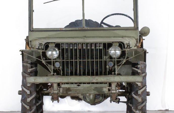 Military 'jeep' prototype joins National Historic Vehicle Register