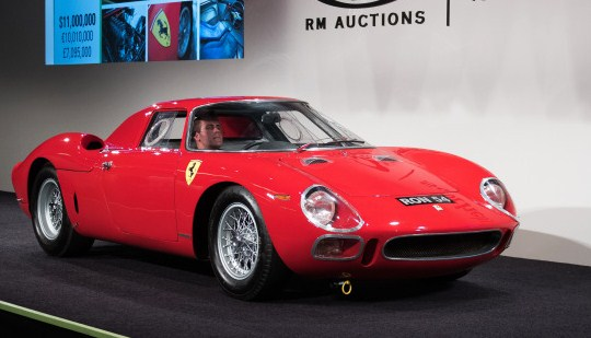 A 1962 Ferrari 250 LM coupe was the highest seller at $17.6 million  RM Sotheby's