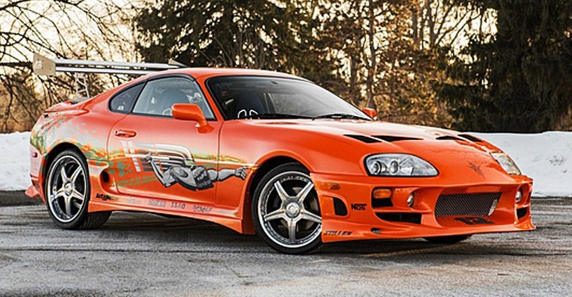 The 1993 Toyota Supra from 'The Fast and the Furious' went to auction