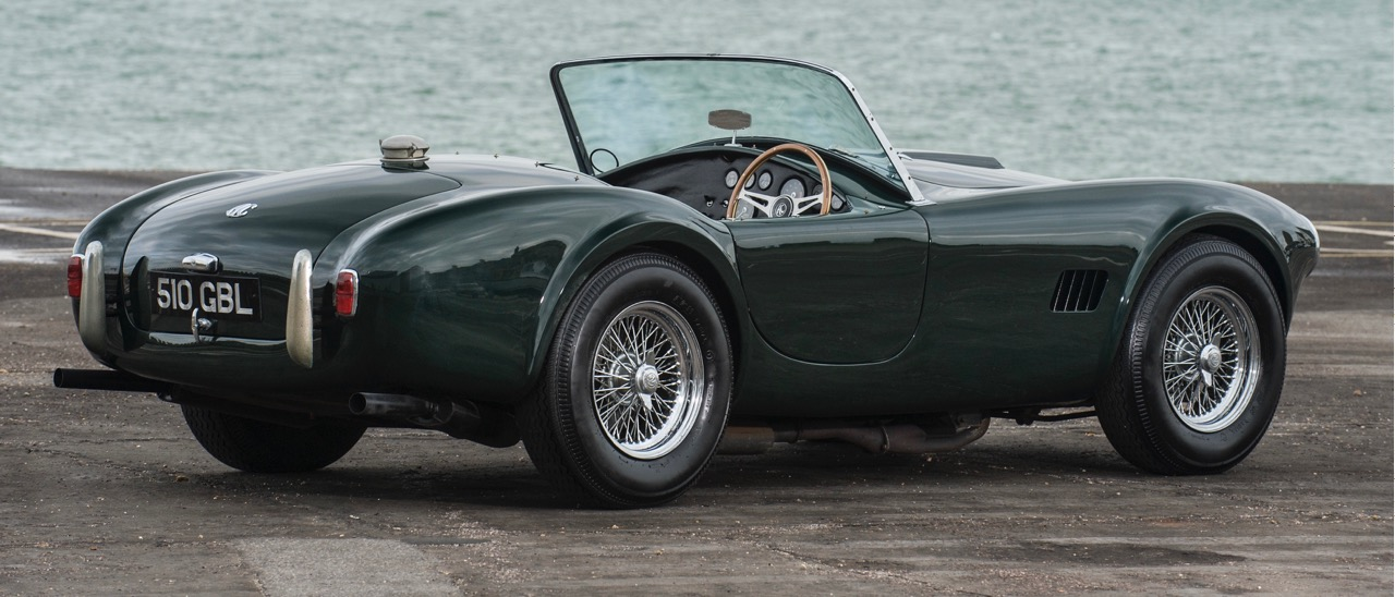 The first right-hand-drive Cobra