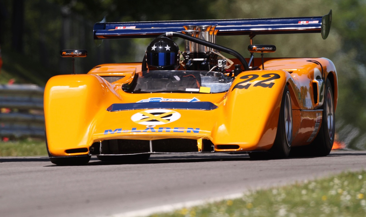 A McLaren M8C is expected to participate in Can-Am revival races | Silverstone photo by Kevin Wood/LAT Photographic