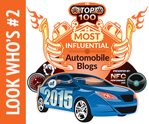 #2 most influential auto-blog