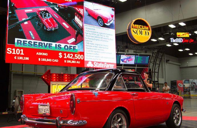 Mecum hits $10.8 million at Austin auction