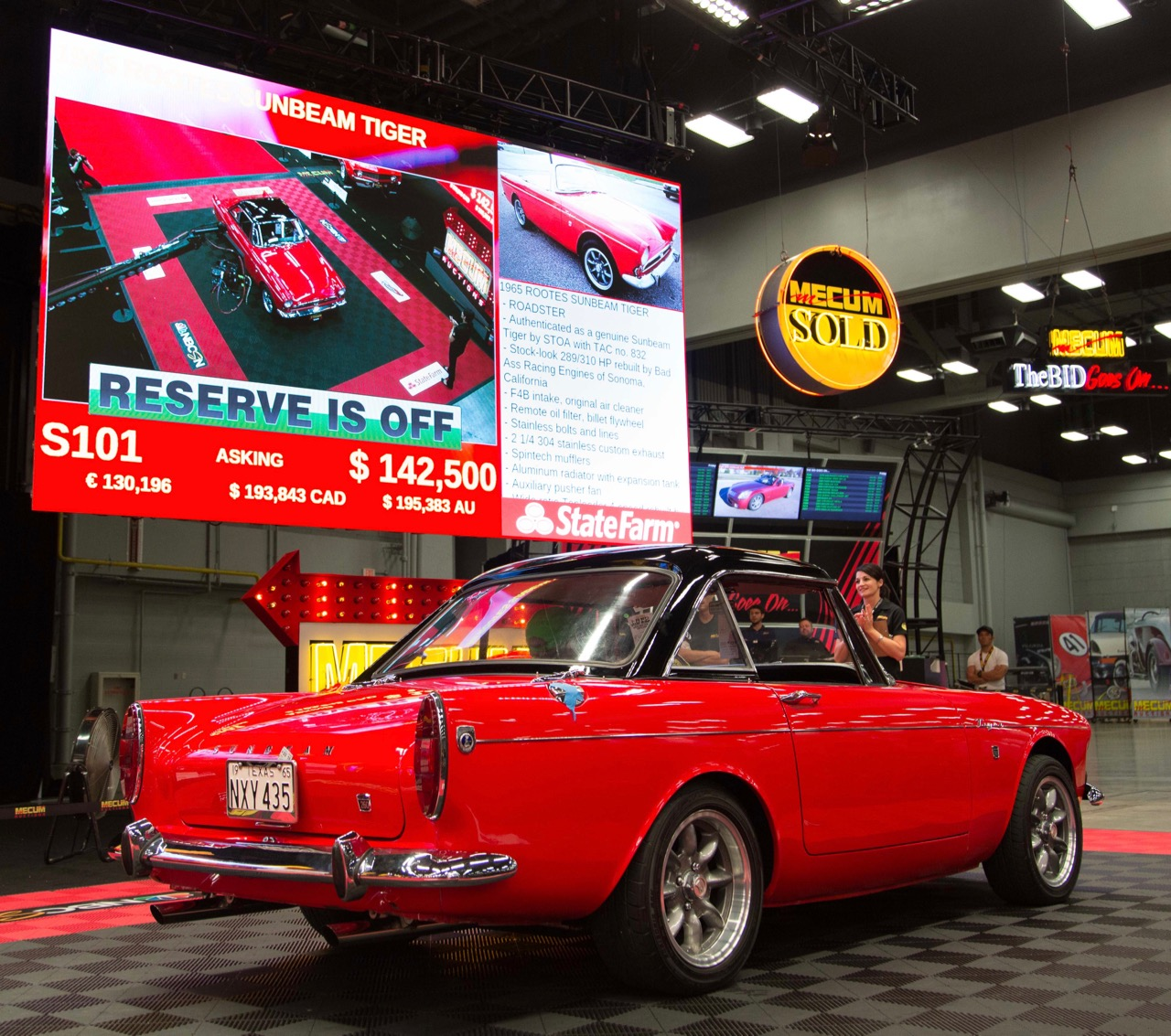 Sunbeam Tiger sells for $142,500 to lead traditional classics