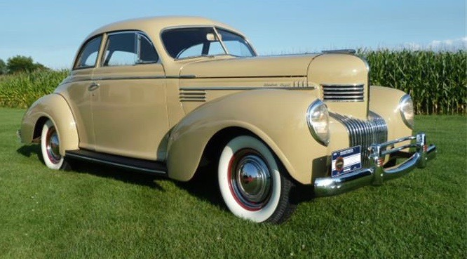 1939 Chrysler Royal Windsor Towne coupe has concours credentials
