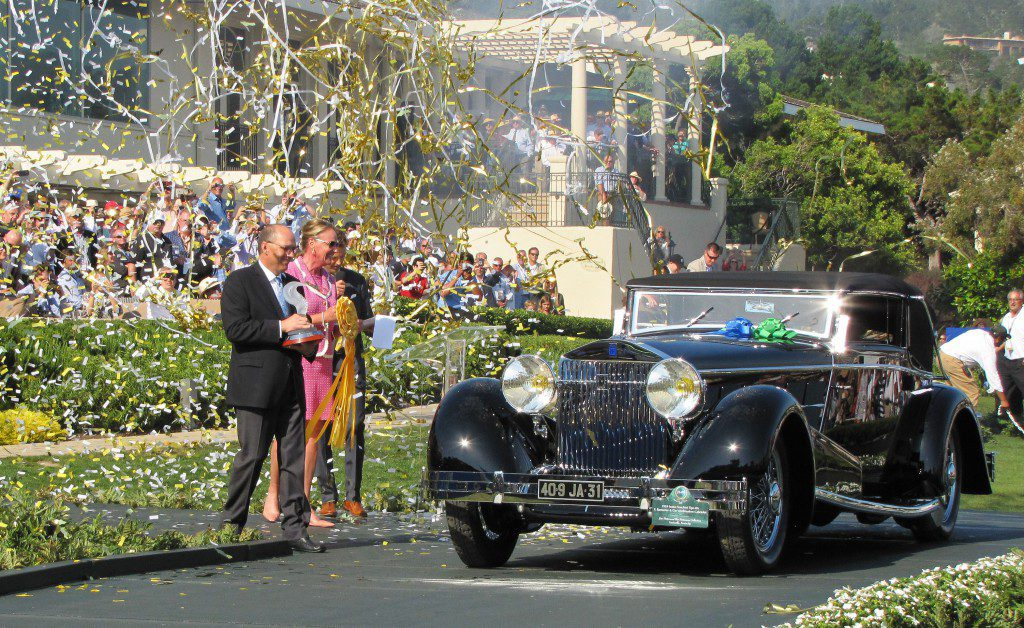 The 1924 Isotta Fraschini Tipo 8A best of show at Pebble Beach