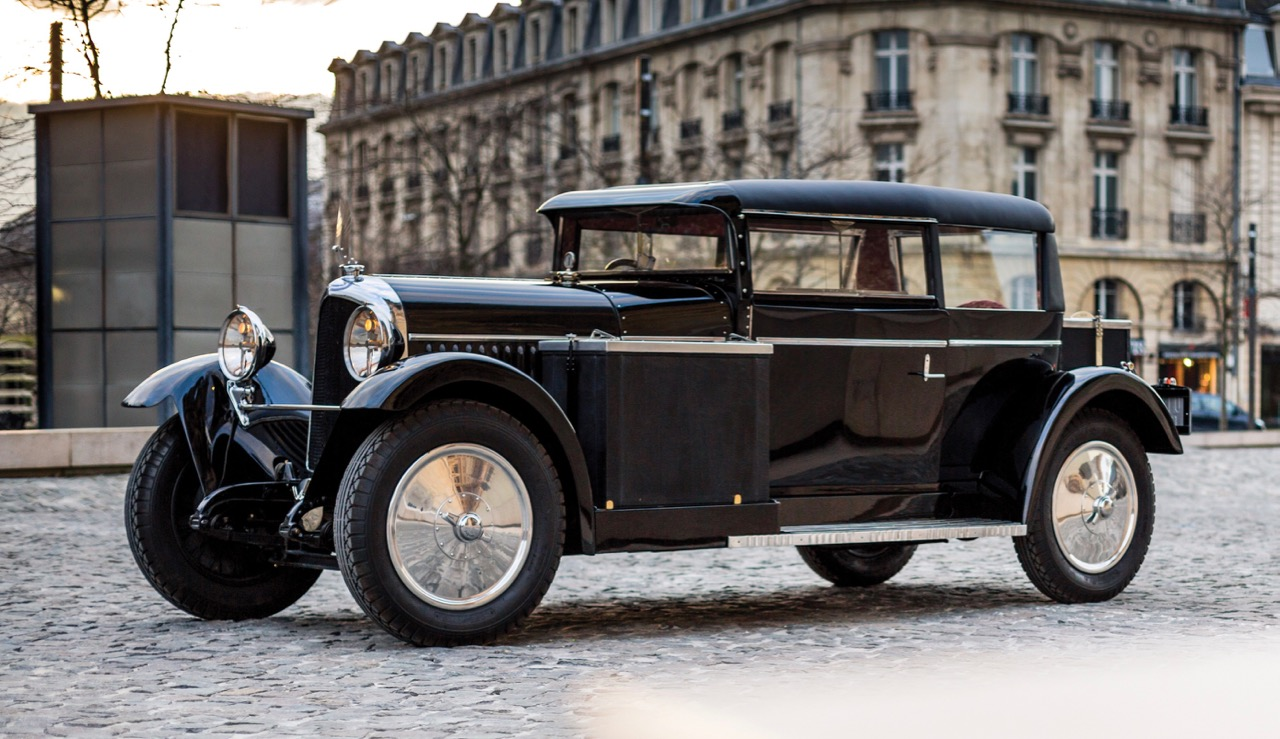 Gabriel Voisin's own 1927 C14 Lumineuse will be offered for sale at Amelia Island | RM Sotheby's photo by Alexis Gouer