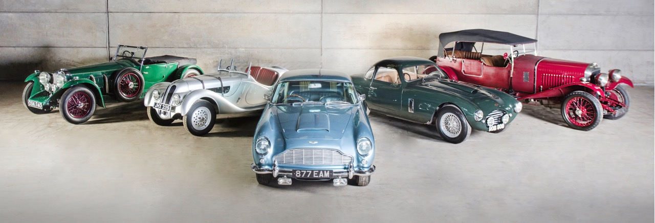 Some of the cars offered up for bidding at Bonhams Bond Street auction | Bonhams photos