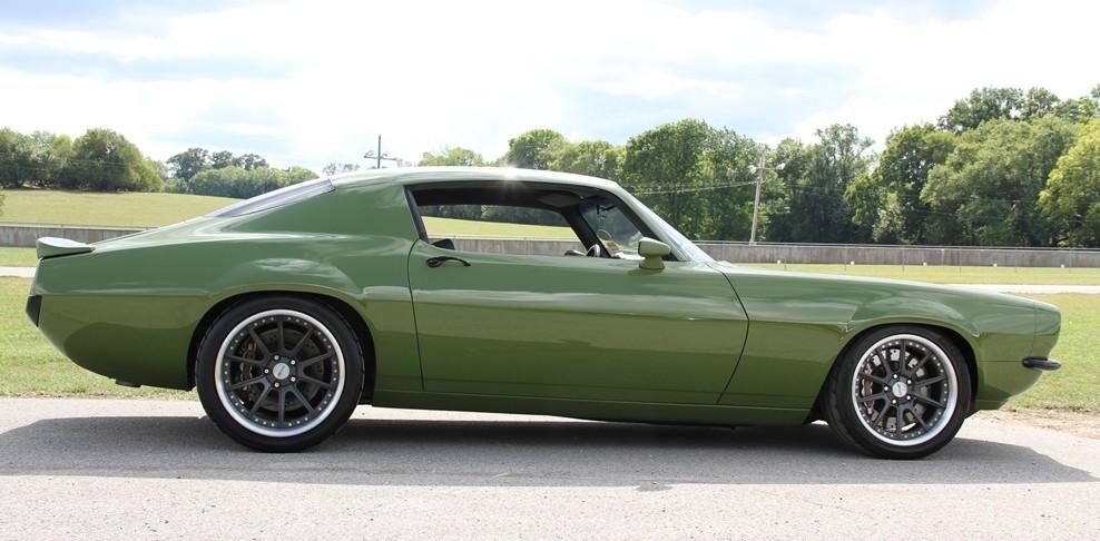 "Countdown to Barrett-Jackson Scottsdale: 1970 Camaro ""Grinch"" - ClassicCars.com Journal"