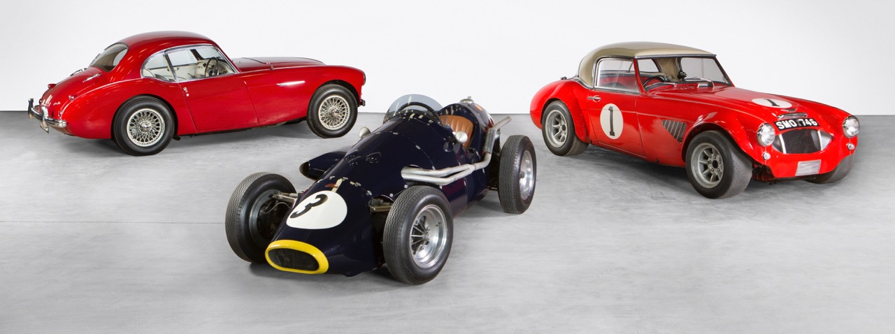 The Healey collection cars