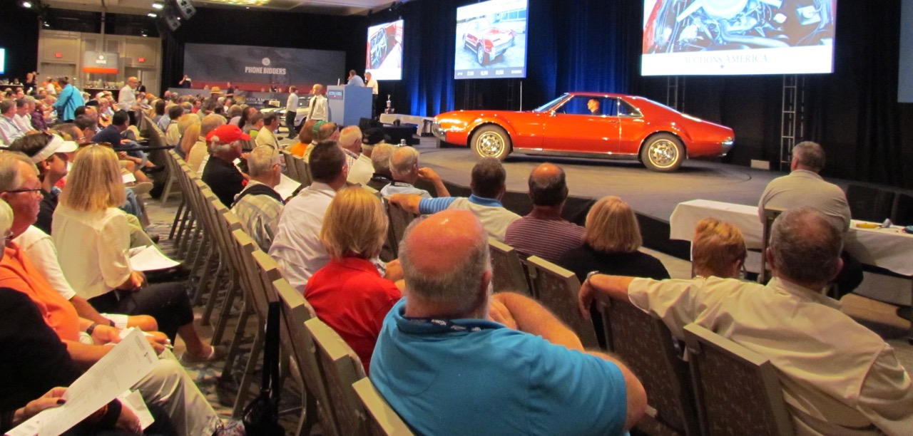 Auctions America staged its first sale at Hilton Head Island | Larry Edsall photo