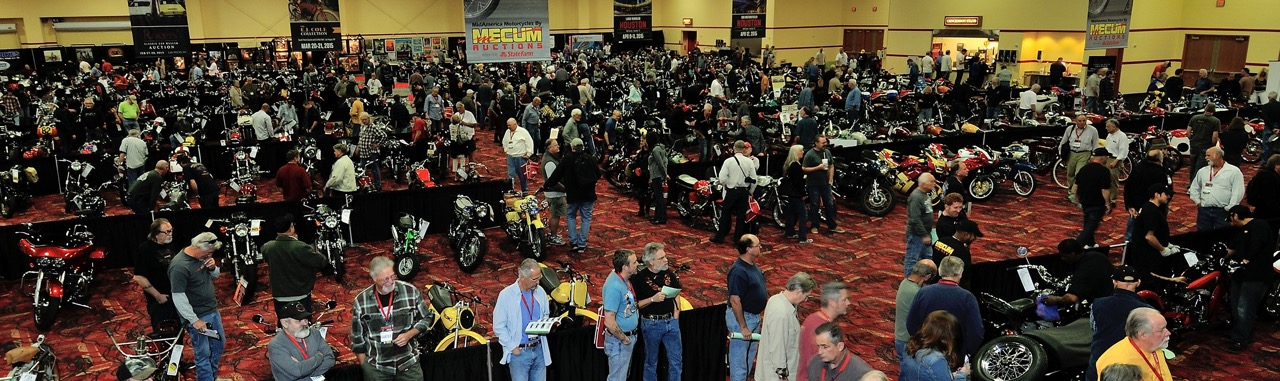 Bikes and bidders aplenty at Mecum's MidAmerica motorcycle sale last year in Las Vegas | Mecum Auctions photos