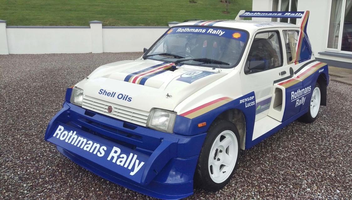 Built as a showcase, this rally-ready MG Metro 6R4 has not been raced | Coys photos