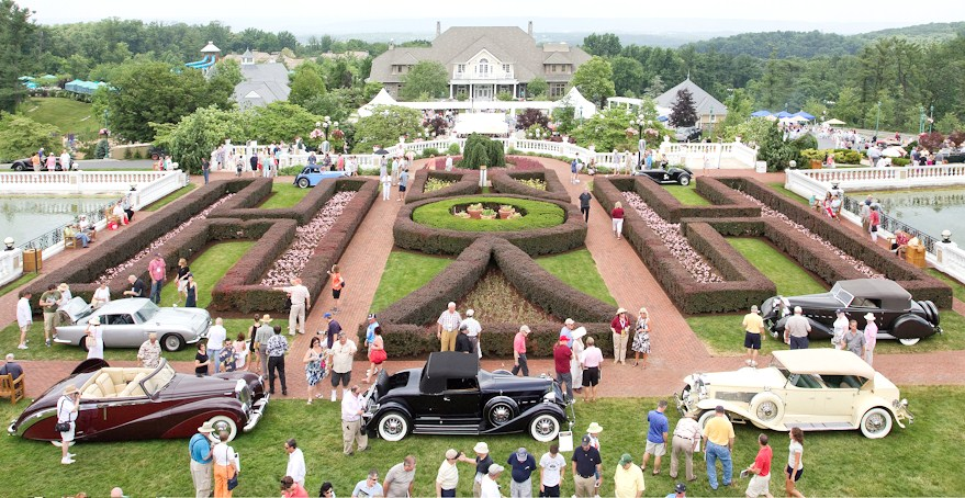 The scene at The Elegance at Hershey in 2015 at The Hotel Hershey | West Peterson / The Elegance at Hershey