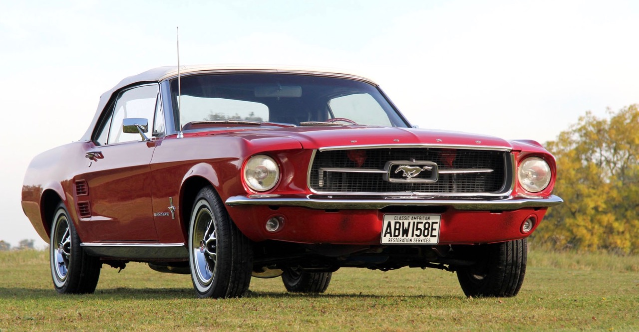 Actor's classic Mustang brings $50,349 at British auction | CCA photo