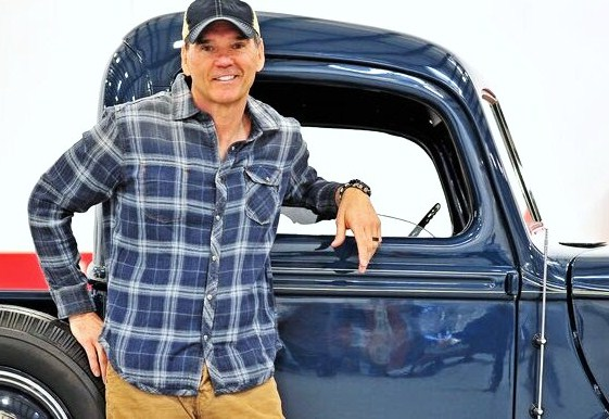 Ray Evernham with an old Ford pickup | The Elegance at Hershey