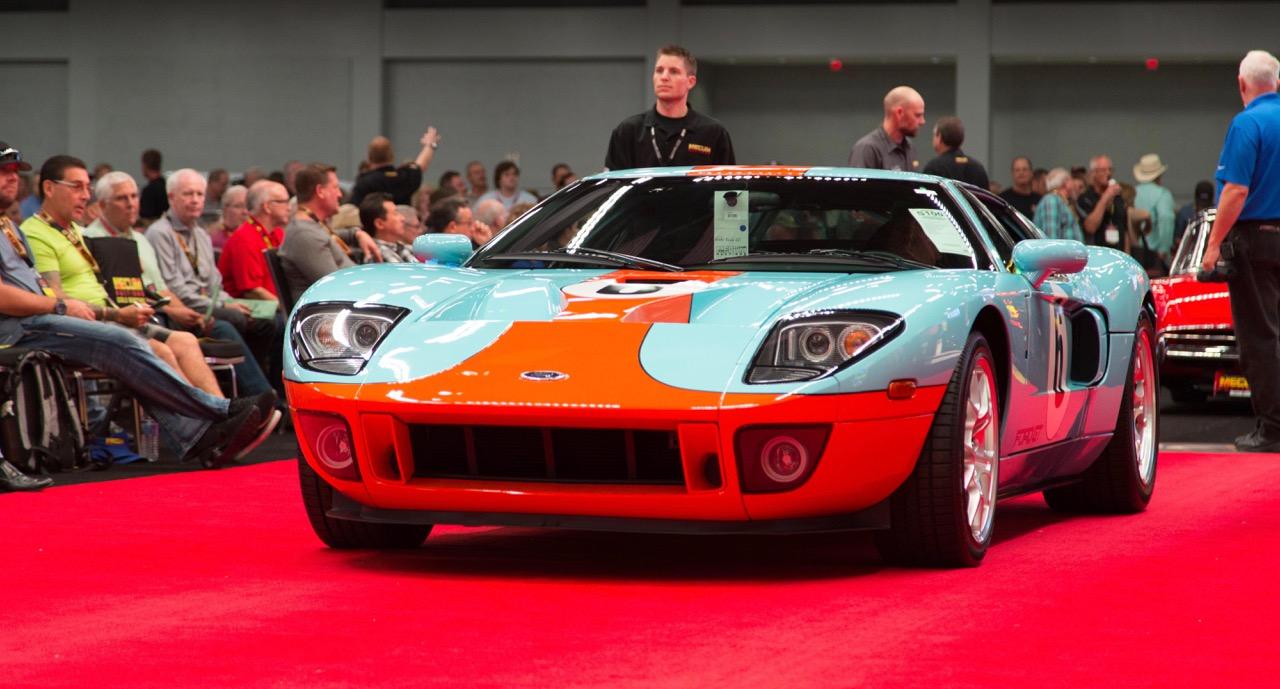 Heritage Edition Ford GT draws highest bids at Mecum's Austin auction | Mecum Auctions photos