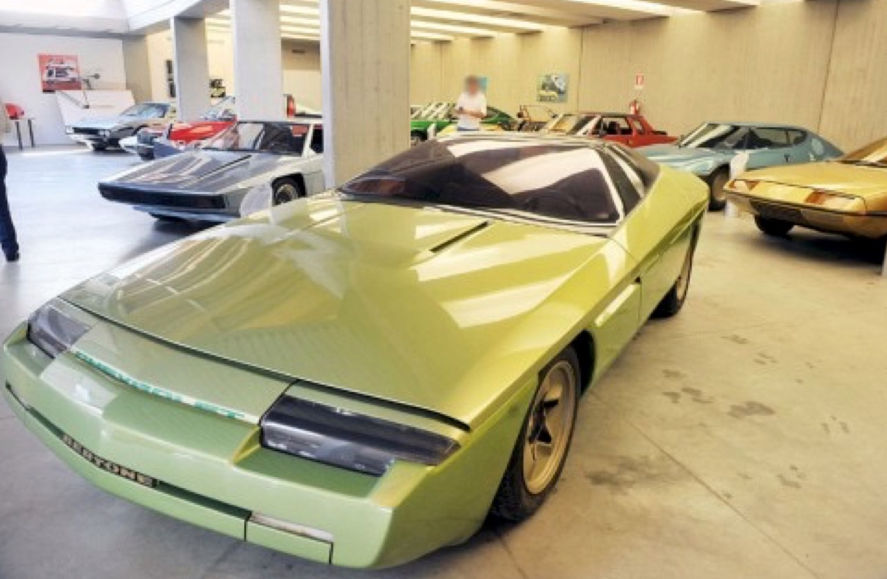 Some of the cars sold at the Bertone bankruptcy auction