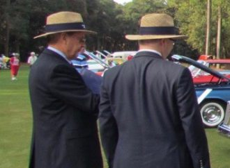What I learned while wearing a blazer and straw hat and pretending to be a concours judge