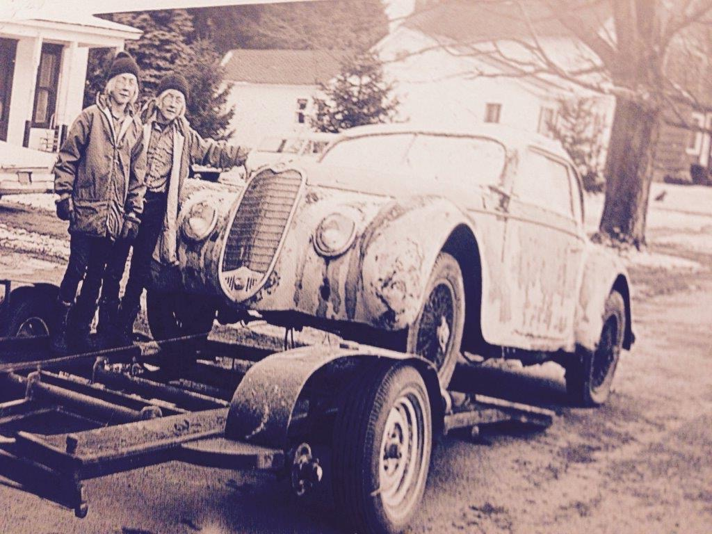 The brothers have a long history with cars | Keno family archives